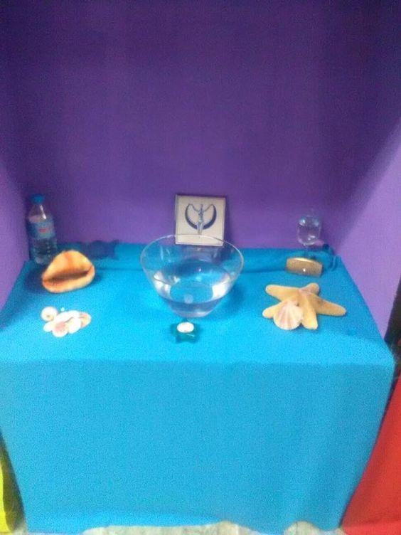 Mini-altar de Litha Septiembre 2017