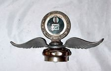 Deluxe Vtg Antique Buick Motometer Radiator Cap Mascot With Wings 1926 1927 1928