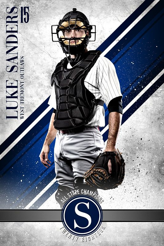 Player Banner Photo Template Grunge Sport Sport Poster Design Sports Design Sport Poster
