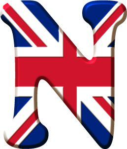 Alfabeto de la bandera de inglaterra ingles adultos - Dibujo bandera inglesa ...