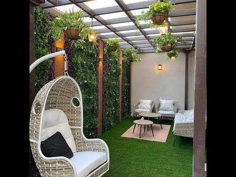 تزيين الحدائق بالعشب الصناعي والحجر Hanging Chair Home Decor Home