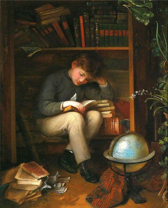 El ratón de biblioteca, de Eduard Swoboda. | Matemolivares