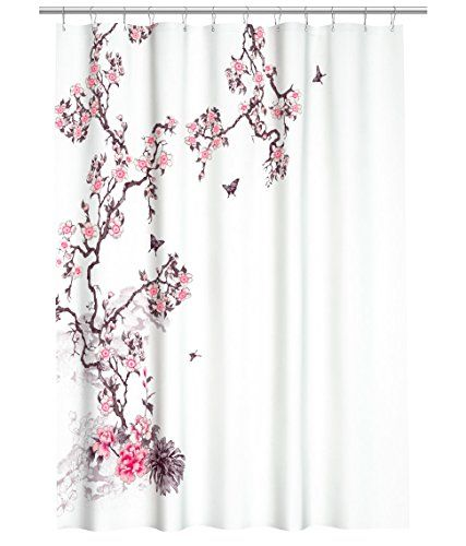 Shower Curtains cherry blossom shower curtains : Cherry Shower Curtain – Curtain Idea