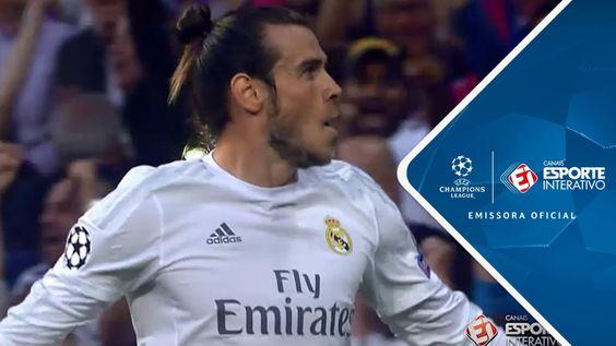 Gol de Bale - Real Madrid 1 x 0 Manchester City - Champions League (04/05/16)