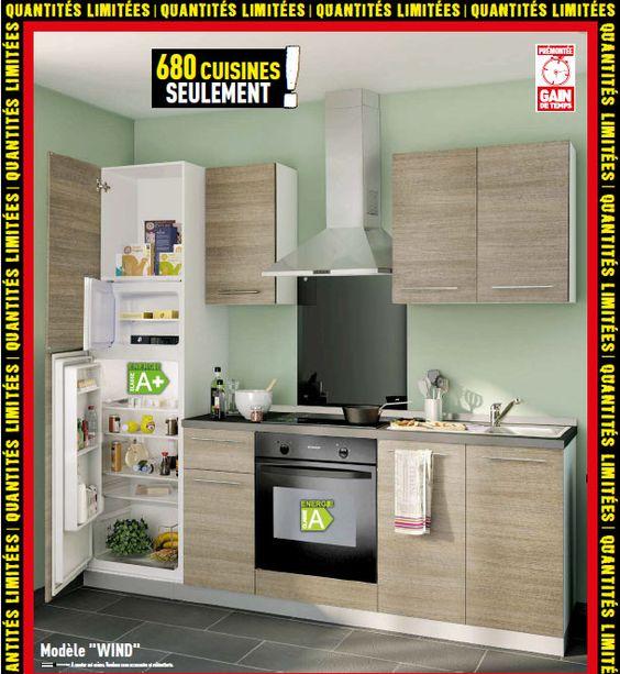 Une cuisine entièrement équipée pour 849€ Qui dit mieux ? http ...