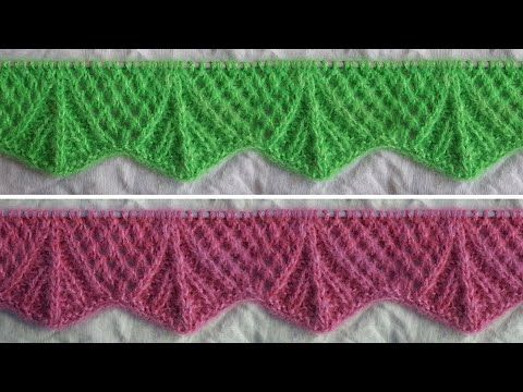 Green Color Ladies Koti Border Sweater Design New Knitting Pattern For Cardigan Border Design Youtube Diy Clothes Videos Crochet Designs Knitting Videos