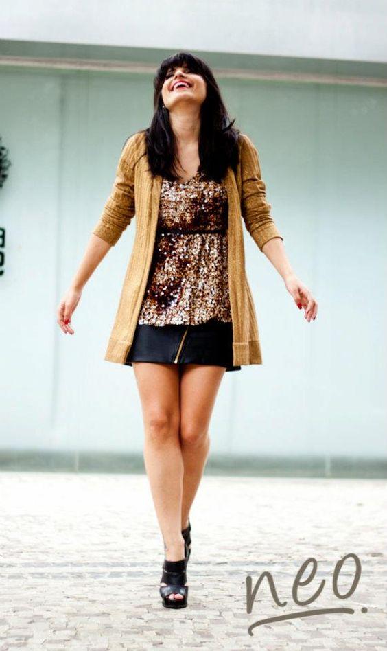 Camila Jardim para loja Neo - Look lindo!
