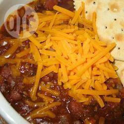 Foto da receita: Chilli de feijão com carne