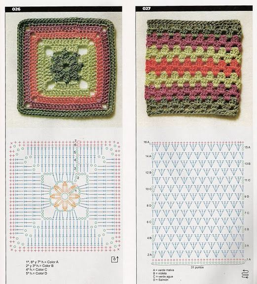 Squares with diagrams, page #46