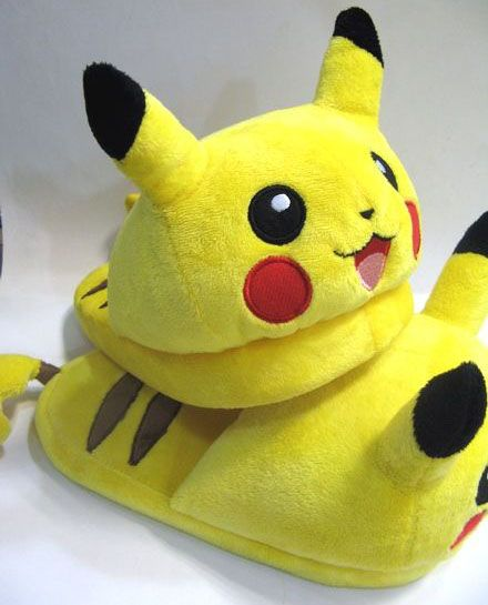 Pikachu Slippers: