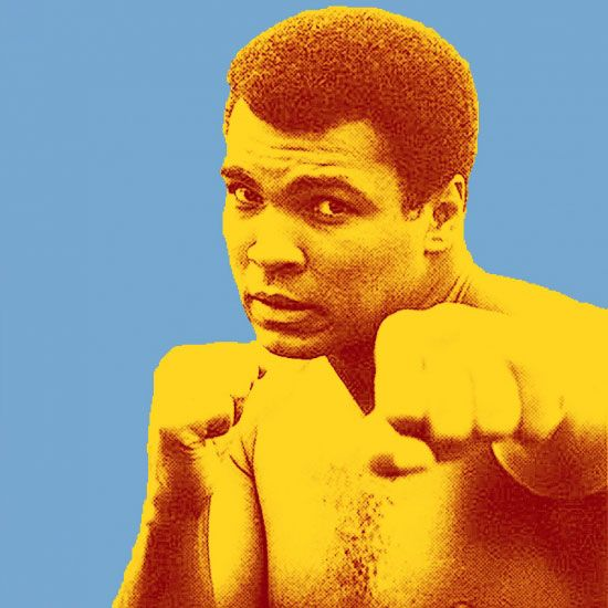 Muhammad Ali Pop Art