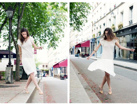 Parisian Urban Bride.. Personal branding shoot by Carla Coulson