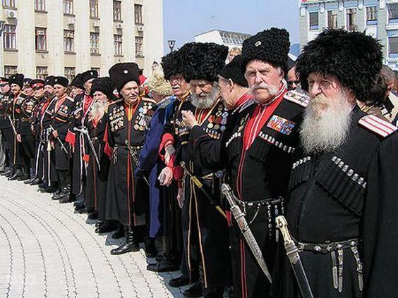 Кубанские казачьи старшины - 21-й век