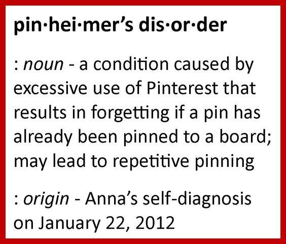 Pinheimer's disorder :)