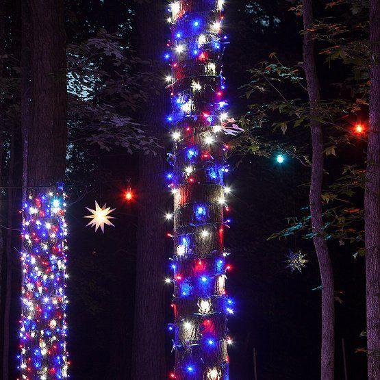Wide Angle 5mm Led Lights 70 5mm Led Patriotic Red White And Blue Lights 4 Spacing Christmas Lights Etc Blue Christmas Lights Led Christmas Lights Christmas Lights
