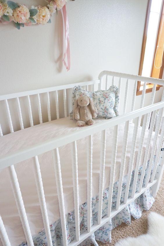 Vintage Inspired Crib Bedding 72