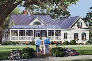 Farmhouse Style House Plan 4 Beds 3 Baths 2556 Sq Ft Plan 137 252 Country Style House Plans Country House Plans House Plans Farmhouse