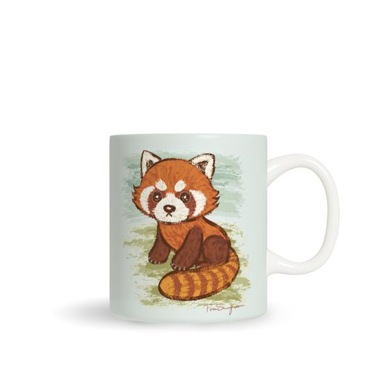 Süßes Kaffeetasse: Red panda cute by Toru Sanogawa. #hellosunday, #winterschlaf