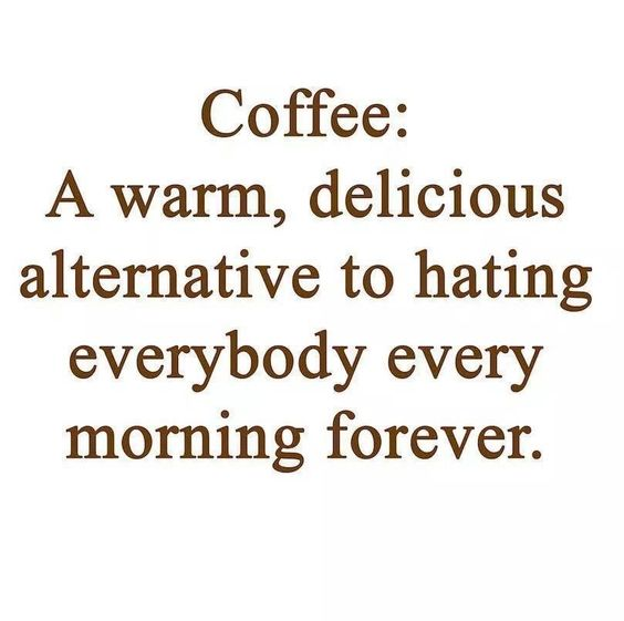 Coffee, less hate