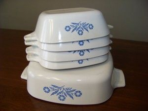 Enter to win Blue Cornflower Casserole Set