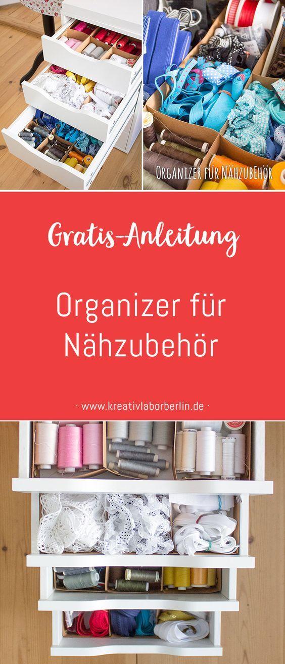 Gratis Diy Anleitung Nahzubehor Organizer Aus Snappap