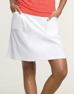 Hanes Signature® Ultimate Stretch Cotton Women's Pocket Skirt