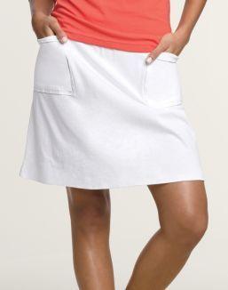 Hanes Signature® Ultimate Stretch Cotton Women's Pocket Skirt