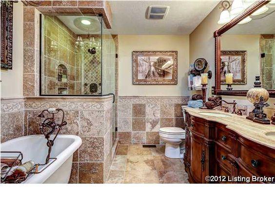 305 Erin Circle Drive Mt. Washington, KY 40047 Master Bathroom