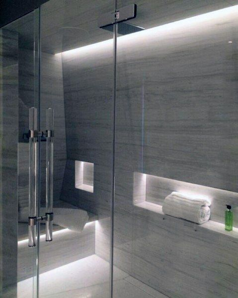 Top 50 Best Shower Lighting Ideas Bathroom Illumination In 2020 Elegant Bathroom Modern Bathroom Shower Lighting