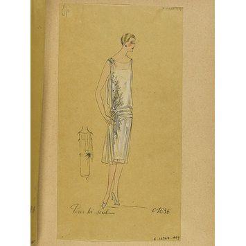 Pour toi seul; Hiver 1926-27, Robes de Soir (Fashion design)
