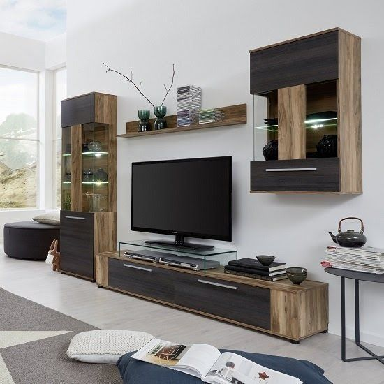 Wohnwand Living Room Design Modern Tv Room Design Wall Tv Unit