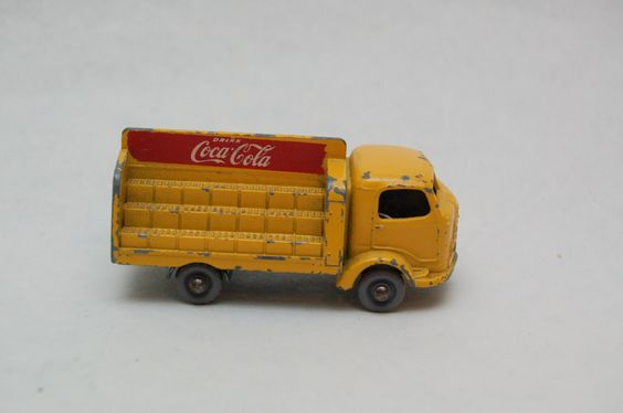 No.37b Coca Cola Karrier Bantam Truck GPW Grey Wheels by Matchbox Lesney England 60's toy Car Great Gift Idea Stocking Stuffer  for Dad by RememberWhenToys on Etsy
