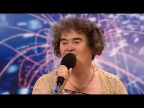 SUSAN BOYLE 1st  [HD] -  If you ever feel that life has passed you by, no matter what you do, watch this and realize that YOU make the difference...
