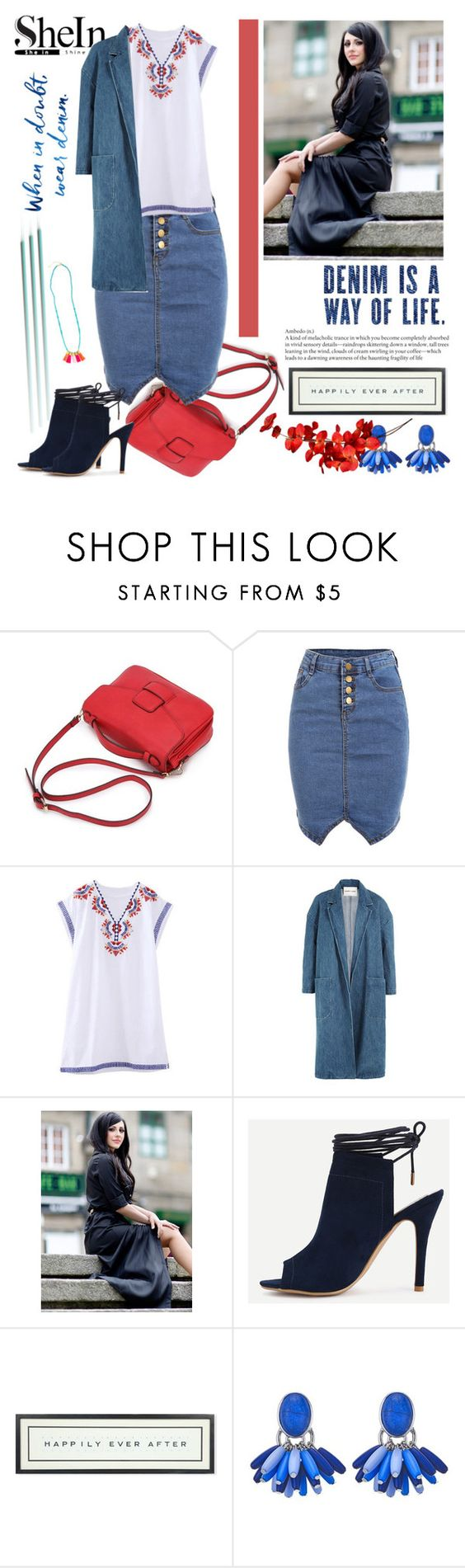 """Shein skirt"" by irinavsl ❤ liked on Polyvore featuring Sandy Liang and Vintage Playing Cards"