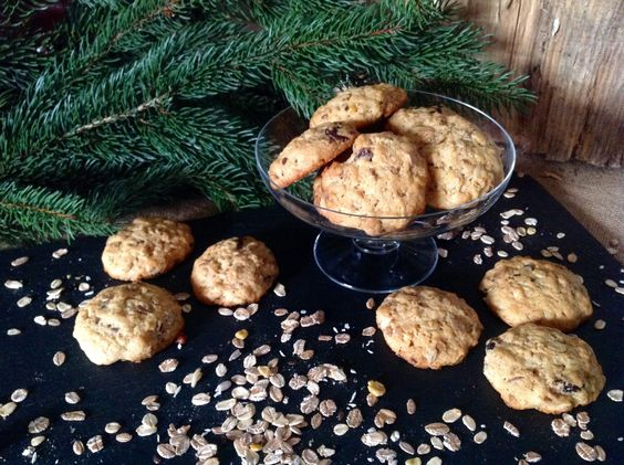 Müsli- Marzipan- Kekse