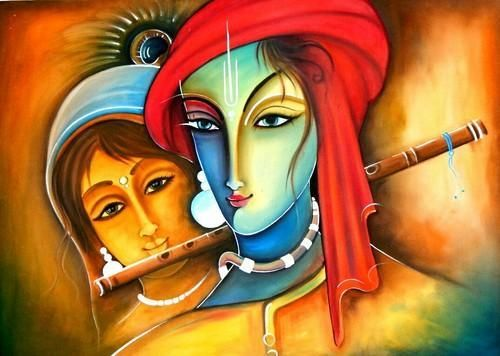 Radha Krishna Modern Art Painting Photo Lord Krishna Images Lord Krishna Hd Wallpaper Radha Krishna Modern Art