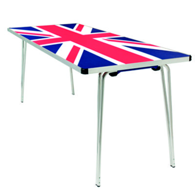 Union Jack table design
