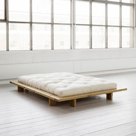 Bedroom Simple And Modern Minimalist Bed Frame Design In