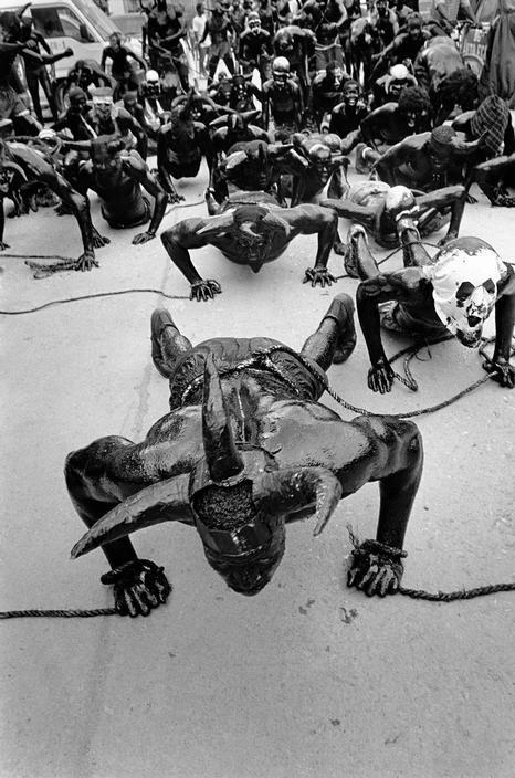 Haiti , Carnival of Jacmel . by Cristina Garcia Rodero: