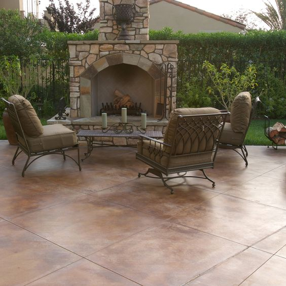 Wonderful Pool Finish Ideas For You To Copy: Decorative Concrete, Behr And Concrete Dye On Pinterest