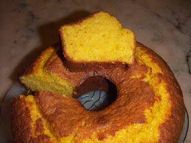 Cozinha com Graça: Bolo de laranja inteira