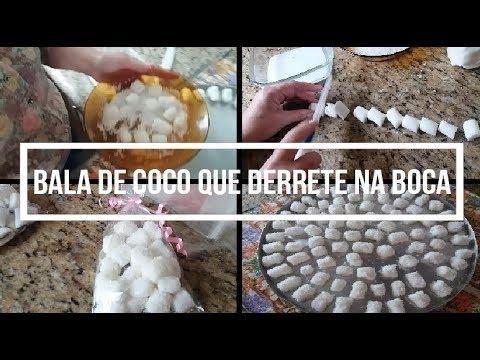 Bala De Coco Tradicional Que Derrete Na Boca Nao Vai Ao Fogo