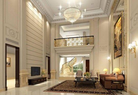 اجمل تصاميم فلل خليجية جديدة 2017 تصاميم فلل خليجية جميلة 2017 تصاميم معمارية الوليد Staircase Interior Design Living Room Design Layout House Design
