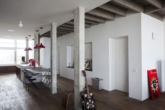 Awesome Interieur Mit Rustikalen Akzenten Loft Design Bilder ...