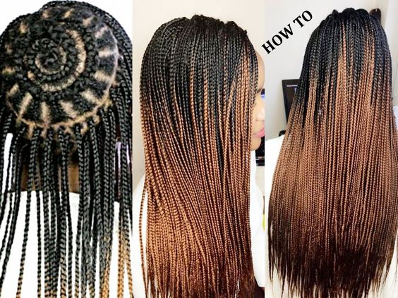 Crochet Hair Tutorial For Beginners : jc braids bossy braids and more videos twists braids crochet braids ...