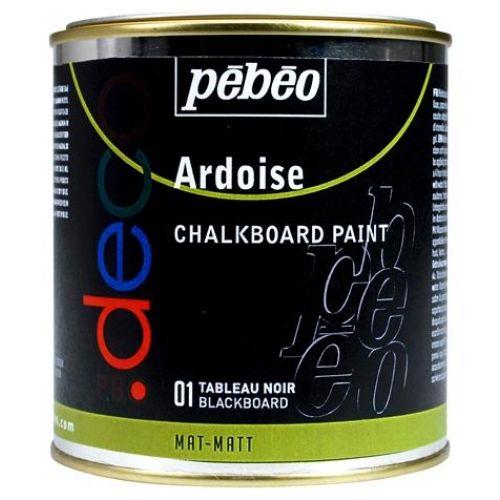 Peinture ardoise tableau noir 500ml - Couleur ardoise peinture ...