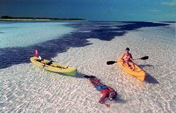 Bahia Honda State Park, an amazing place to kayak.