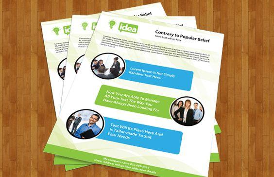 Brochure designs in PSD