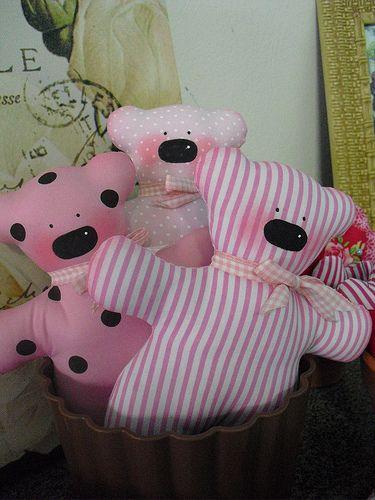 ursinhas Tilda, em tecido, para meninas! | by Mimidolls