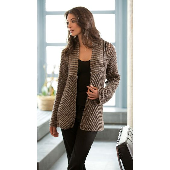 Glamour Jacket in Lion Brand Vanna's Glamour - L10351. Discover more Patterns by Lion Brand at LoveKnitting. We stock patterns, yarn, needles and books from all of your favorite brands.